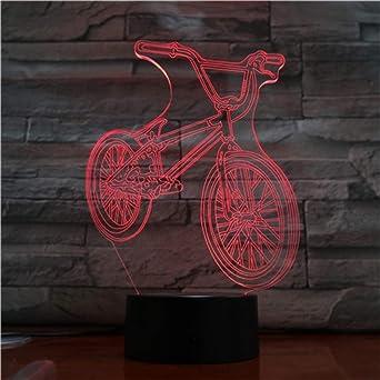 Motocicleta eléctrica modelado de automóviles luces en 3D ilusión ...