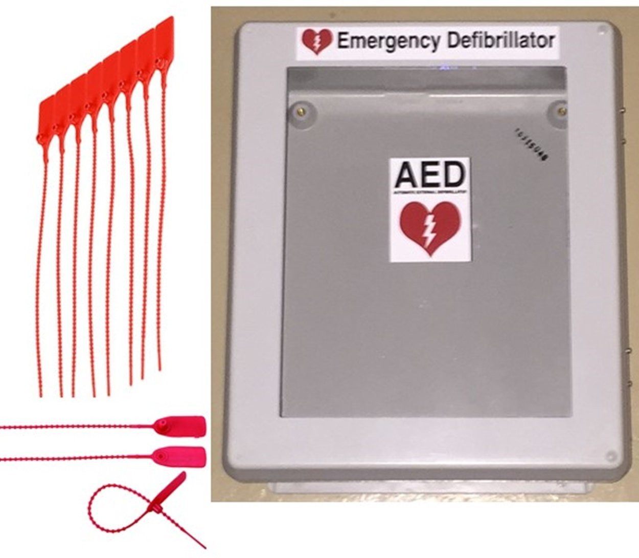 Charmant Amazon.com: Defibrillator AED Cabinet Box With Window   Weather Resistant  Waterproof Enclosure: Health U0026 Personal Care