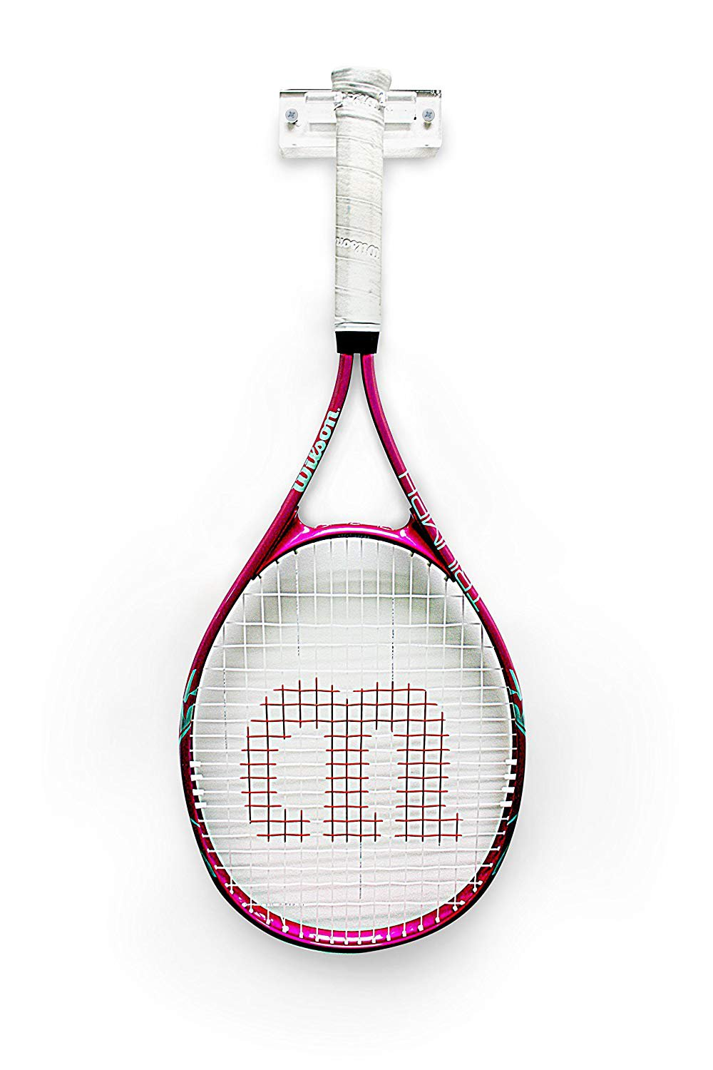 Better Display Cases Deluxe Acrylic Standard Size Tennis Racquet Wall Mount