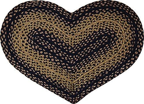 CWI Gifts Braided Ebony Heart product image