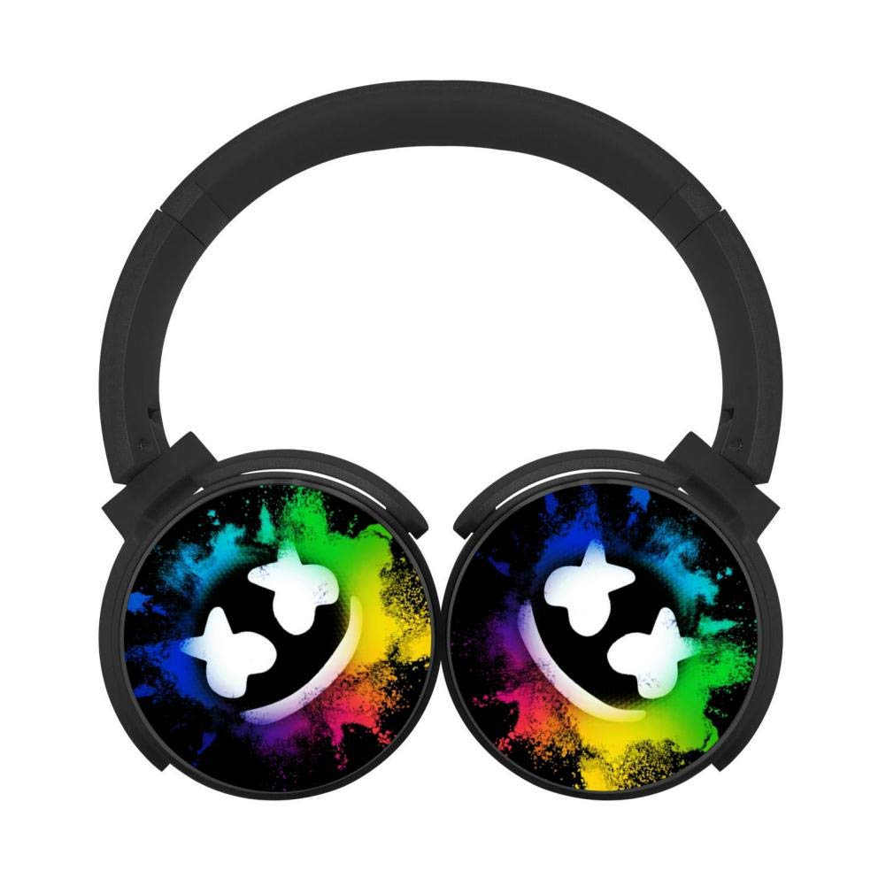 Mobile Wireless Bluetooth Mar_Xsh_Mel 3D Printing Over Ear Headphones Black