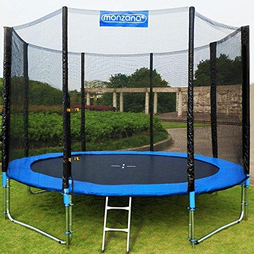 Trampolin-Kindertrampolin-Garten-Set-305cm-Netz-Plane-Zubehr-TV-SD-GS