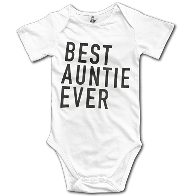 251c70ba1 Amazon.com: Best Auntie Ever I Love My Aunt Gift For Aunt Baby Onesie Cute Baby  Clothes: Clothing