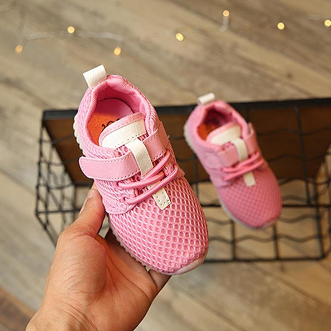 e7a198a4 ... Moonker Kids LED Shoes for 3-8 Years Old, Boys Girls Children Fashion  Light ...