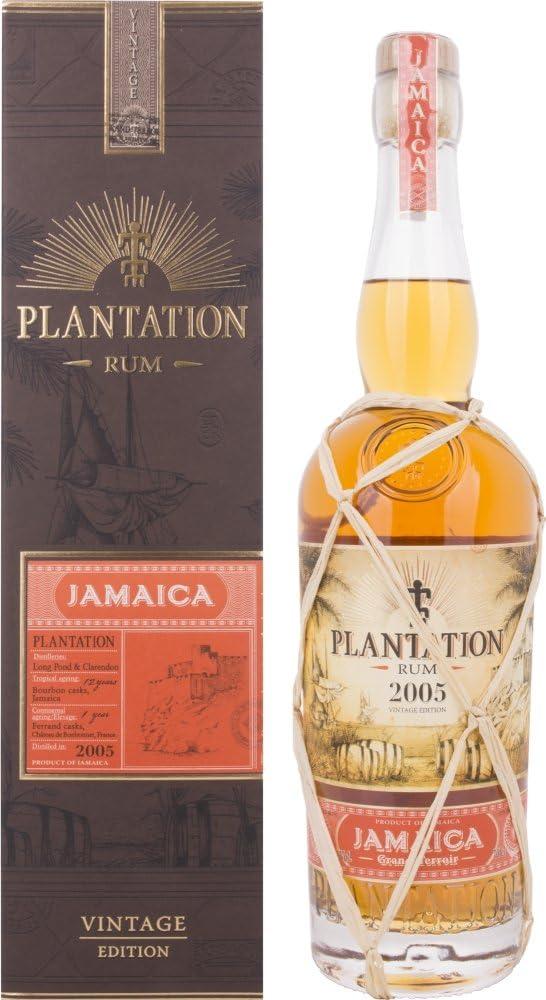 Plantation Jamaica Grand Terroir Edición Vintage Ron 2005 ...