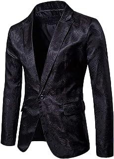 GladiolusA Blazer Uomo Casual Giacche da Abito Giacca Elegante Vestito Festa Outwear