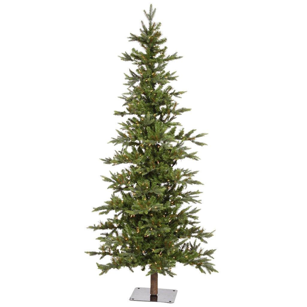 Amazon.com: Vickerman 8\' Shawnee Fir Artificial Christmas Tree With ...