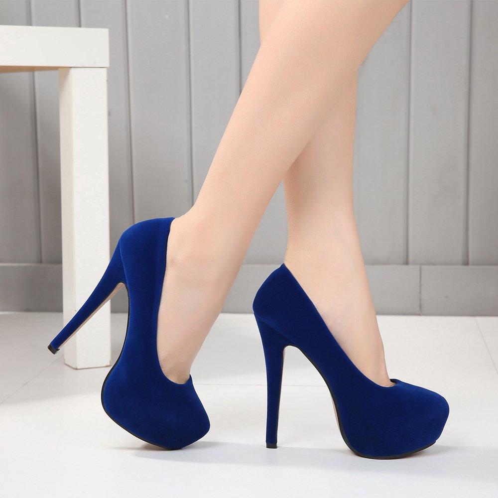 86d415a86 OCHENTA Zapatos de Vestir de Material Sintético para Mujer Zapatos ...