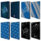 Official NFL 2017/18 Detroit Lions Leather Book Wallet Case Cover for Apple iPad Air 2