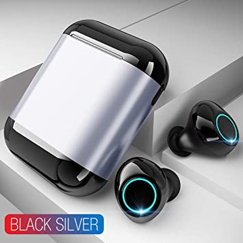 HoEOQeT Auriculares inalámbricos TWS para Auriculares ...