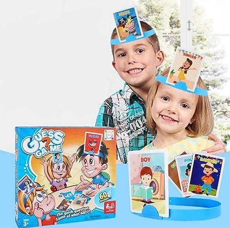 OOFAY Spin Master Games, Hedbanz, Hedbanz Juegos De Mesa Juegos Clásicos Juegos Infantiles Juegos De Cartas Adivina Lo Que Soy: Amazon.es: Deportes y aire libre