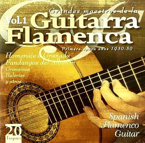 Grandes Maestros De La Guitarra Flamenca: Various Artists: Amazon ...