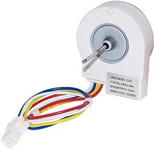 SZHY-LINK WR60X10209 Condenser Fan Motor for GE Refrigerator WR60X10209 WR60X10155 WR60X10042 (12 Volt)