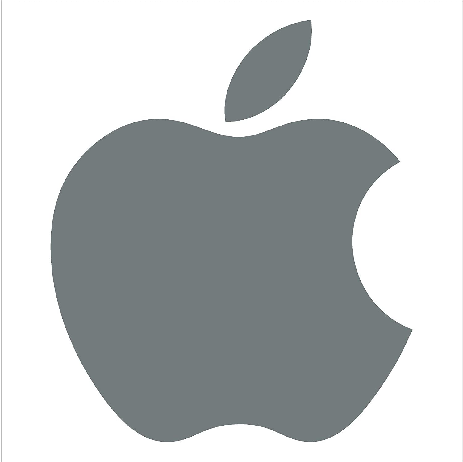 Amazon apple logo die cut vinyl decal sticker 4 light grey amazon apple logo die cut vinyl decal sticker 4 light grey automotive biocorpaavc Gallery