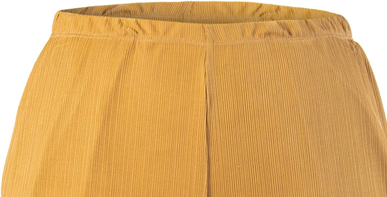Flowy Sizes S-XXL Super Comfy Loose momomio Wide Leg Summer Palazzo Pants for Women