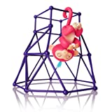 Amazon Price History for:Interactive Baby Monkey Playset, Baby Monkey Jungle Gym Playset Monkey Climbing Stand Platform (Purple)