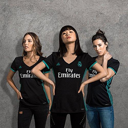 adidas A JSY W Camiseta 2ª Equipación Real Madrid 2017-2018 dae3d2755e726