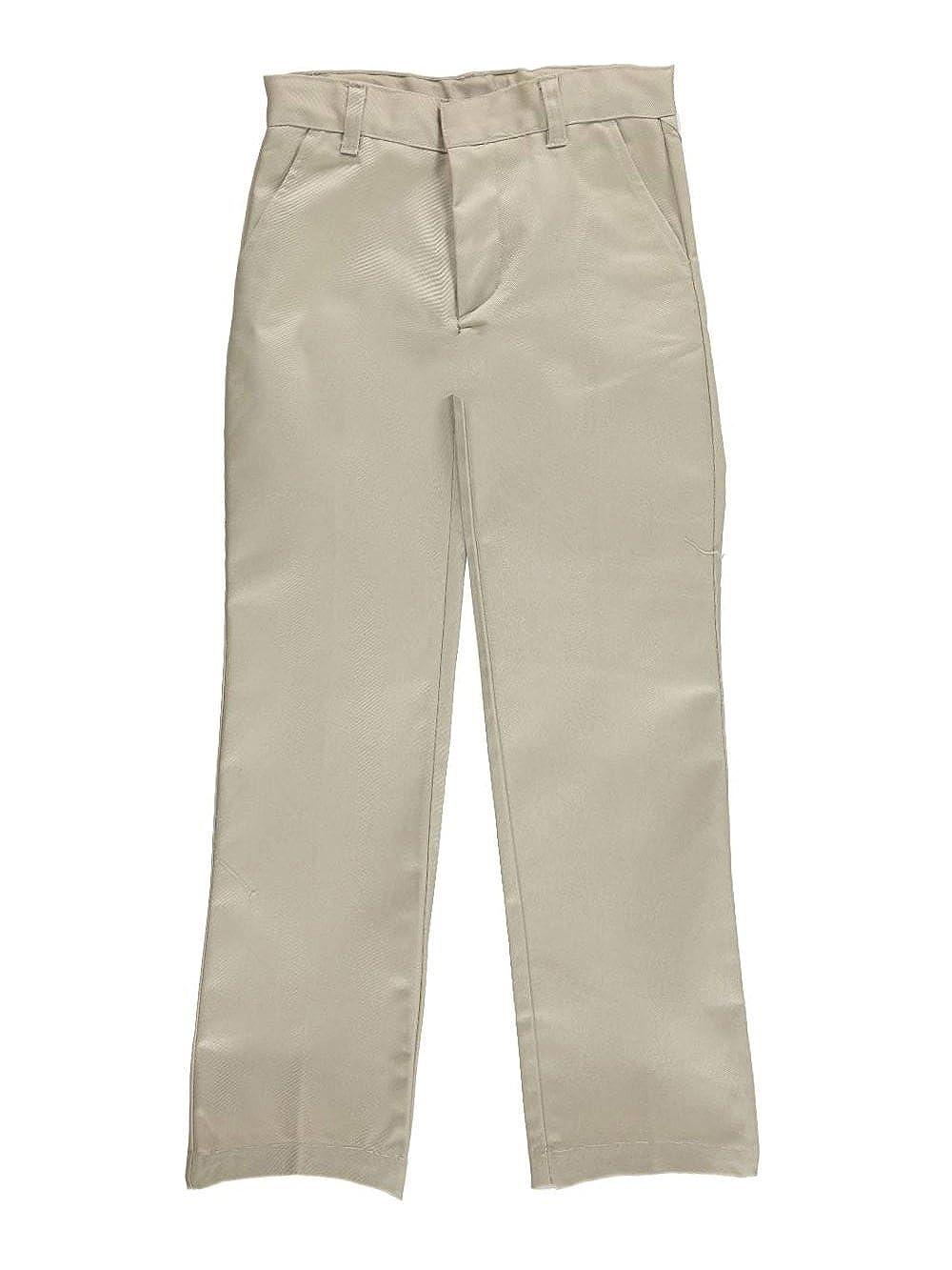 French Toast Big Girls' Stretch Twill Uniform Pants - khaki, 12