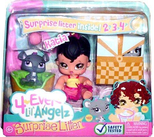 gelz Surprise Litter ~ Katia and Mouse (Bratz Lil Angelz)
