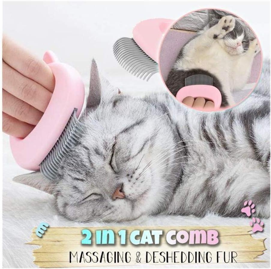 Amazon.com : HRLYL Pet Hair Removal Massaging Shell Comb, Shell Comb  Elastic Nylon Brush, Hair Removal, Pet Grooming Massage Tools for Removing  Matted Fur, Knots and Tangles (1pc, Pink) : Pet Supplies