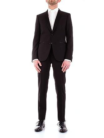 Corneliani Luxury Fashion Hombre 837Z759167428 Negro Trajes ...
