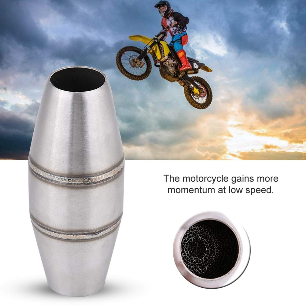 Motorcycle 35mm Full Exhaust System Universal Exhaust Pipe Muffler Silencer Motorcycle Silencer Muffler Short Exhaust Slip On Pipe