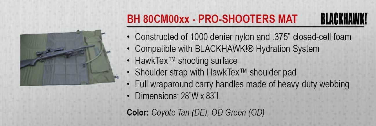 BLACKHAWK Pro-Shooters Mat