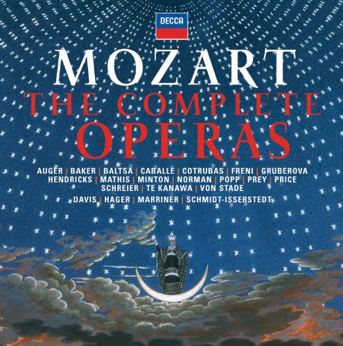 Mozart: Complete Operas (44 CDs)