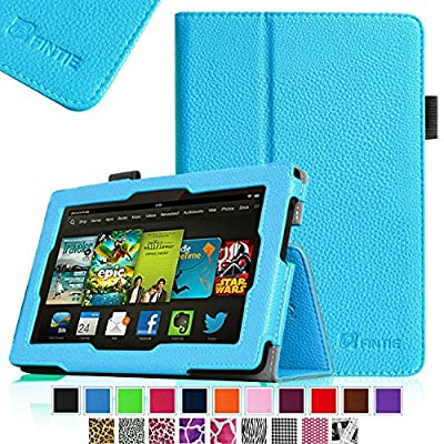 "Fintie Amazon All New Kindle Fire HD 7"" Slim Fit Folio Case with Auto Sleep / Wake Feature"