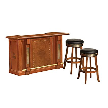 Awe Inspiring Amazon Com Harley Davidson Bar With 2 30 Barstools Sports Caraccident5 Cool Chair Designs And Ideas Caraccident5Info