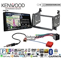 Volunteer Audio Kenwood DNX874S Double Din Radio Install Kit with GPS Navigation Apple CarPlay Android Auto Fits 2009-2011 Hyundai Azera