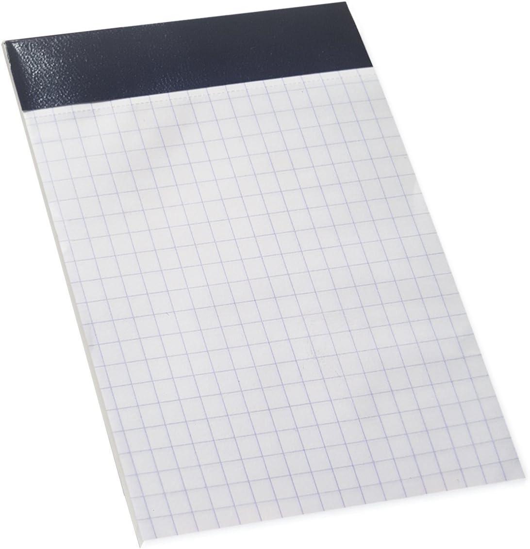 Enri 100103760 - Pack de 10 blocs de notas grapados sin tapa, A7 ...
