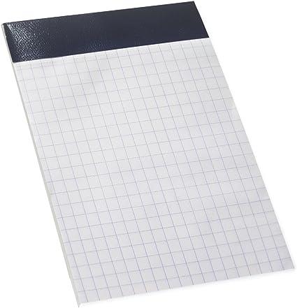 Enri 100103760 - Pack de 10 blocs de notas grapados sin tapa, A7: Amazon.es: Oficina y papelería