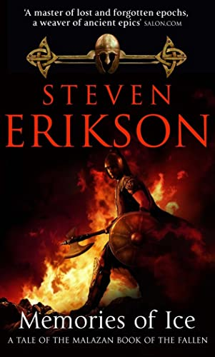 Memories of Ice: (Malazan Book of the Fallen: Book 3) (The Malazan Book Of The Fallen)