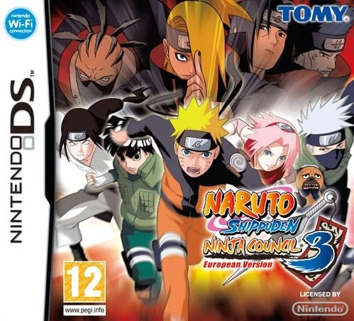 Tomy Naruto Shippuden Ninja Council 3, NDS - Juego (NDS, Nintendo ...