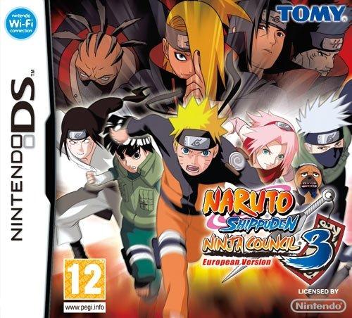 Tomy Naruto Shippuden Ninja Council 3, NDS - Juego (NDS ...
