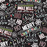 """Christmas Chalk Gift Wrapping Roll 24"""" X 15' - Gift Wrap Paper"""