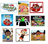 9 Little Einsteins Stickers, Party Supplies, Favors, Gifts, Labels, Birthday, Decorations