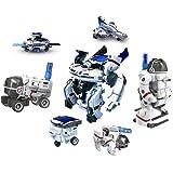 Happy GiftMart 7 In 1 Eco Science Educational Space Fleet Solar Demonstration Kit DIY Set Toy, 7 Models (Blue)