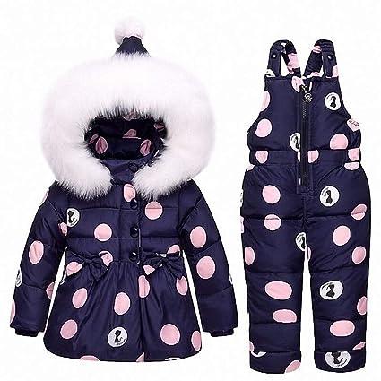 Amazon.com: QSEFT - Chaqueta de invierno cálida para bebé ...