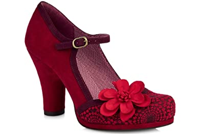 Ruby Shoo Size 3 Women s Tanya Textile Mary Janes  Amazon.co.uk ... a35bb70058