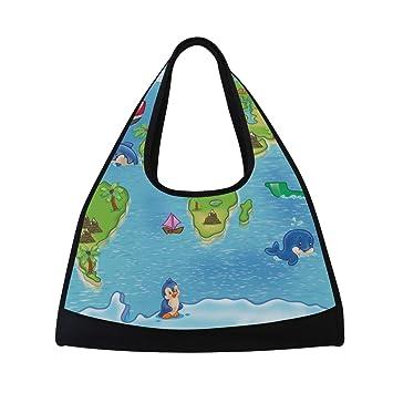 Amazon.com: DEYYA - Bolsa de gimnasio para niños, diseño de ...
