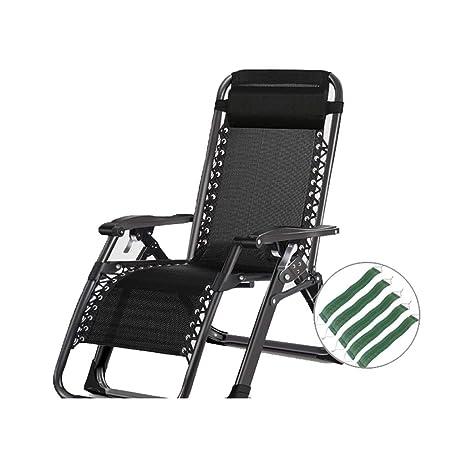 QXX Sillones reclinables para sillas de jardín con ...