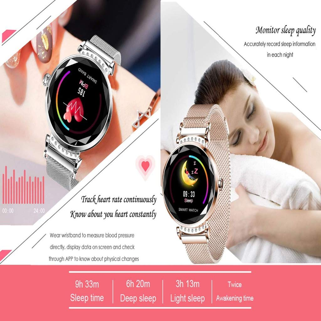 CHUD Reloj inteligenteSmart Watch para Mujer, Fitness Tracker ...