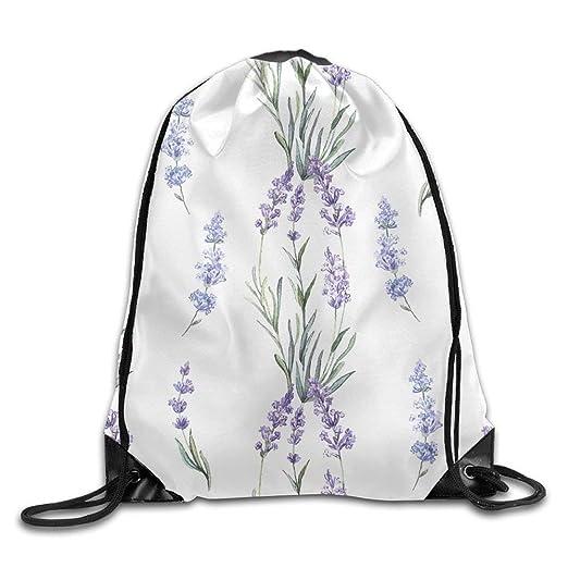 e59cd8f6ae08 Amazon.com   Drawstring Bag Gym Bag Travel Backpack, Lavender Purple ...