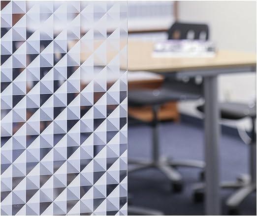 LV-BT5078 Black Triangle 50 x 78 Decorative Window Film Geo Window Films