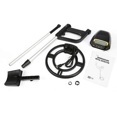 FairytaleMM MD4060 Mini Detector de Metales subterráneo portátil portátil Buscador de Tesoros de Mano Buscador de