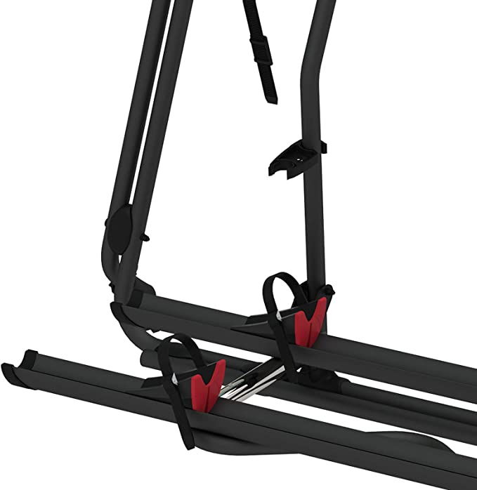 Fiamma Carry Bike Pro Bicycle Carrier Black Suitable For Vw T6 Tailgate 60 Kg Load Capacity Vw T6 Auto