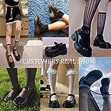 AOSPHIRAYLIAN Womens Gothic Lolita Shoes Platform