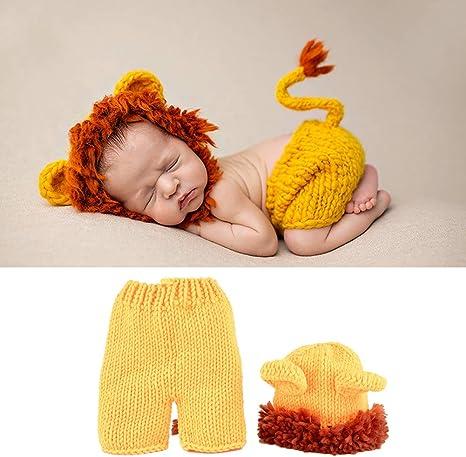 Baby Lion Costume, Baby Soft Cómodo Lindo León Disfraz Photo Prop ...